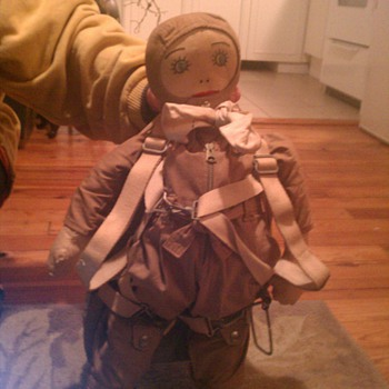US NAVY, WORLD WAR ARMY DOLL