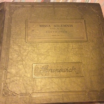 Missa solemnis D major op 123 Album 17 Beethoven