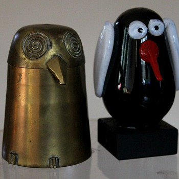 Look Into My Eyes! - Art Glass