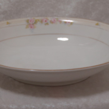 "Noritake China ""Hand Painted"" Bowl ""The Lorraine"" - China and Dinnerware"