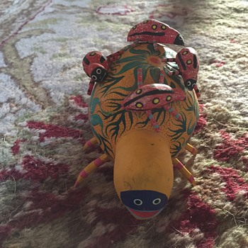 Oaxacan Mexican bug beetle - Folk Art