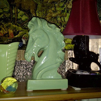 Horse Head TV Lamp - Lamps