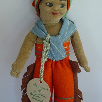 Norah Wellings Indian doll