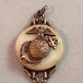 Marine Pendant - Military and Wartime