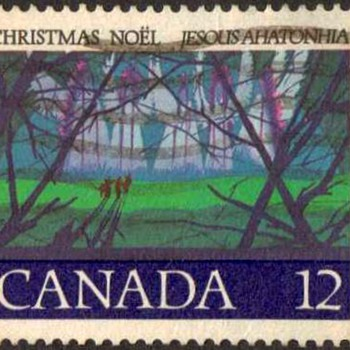 "1977 - Canada ""Christmas"" Postage Stamp - Stamps"