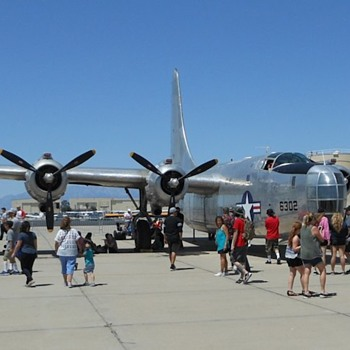 Consolidated PB4Y-2 Privateer (B24) from March AFB Airshow - Photographs