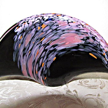 Murano Glass Napkin Holder - Art Glass