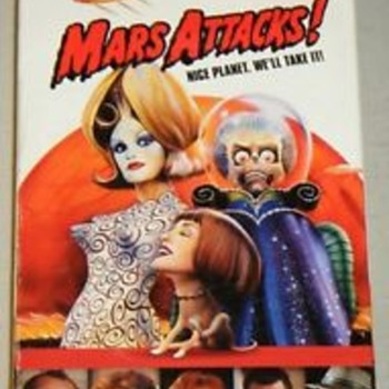 "ONE OF THE FUNNIEST ""ALIEN"" MOVIES EVER !""MARS ATTACKS"" 20 Yr. Anniversary."