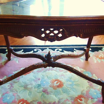 Table, OLD? French? Or?  No markings