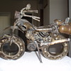 folk art motorcycle picked up at a yard sale, anyone have any info?