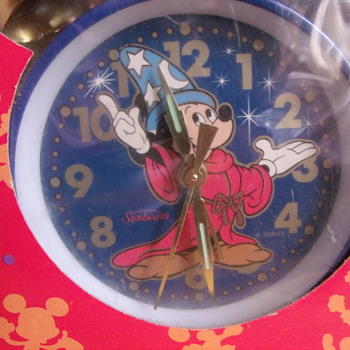 Fantasia Mickey Alarm Clock - Clocks
