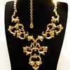 Vintage Florenza Renaissance Scroll Work Necklace