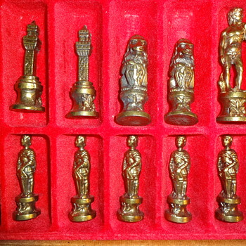 Vintage Chess Set - Games