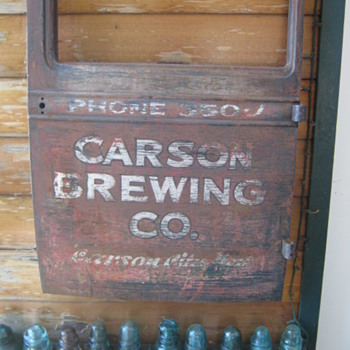CARSON BREWING - Breweriana