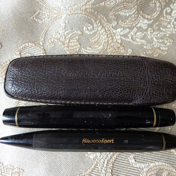 Kaweco Sport Fountain Pen and Pencil Set - 1970's