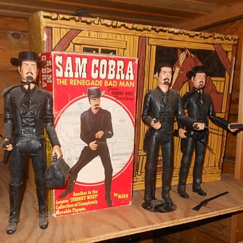 Marx Johnny West Sam Cobra the Bad Guy 1973 - Toys
