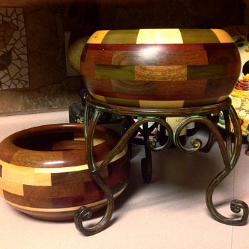 Custom Multi Wood Segmented Bowl