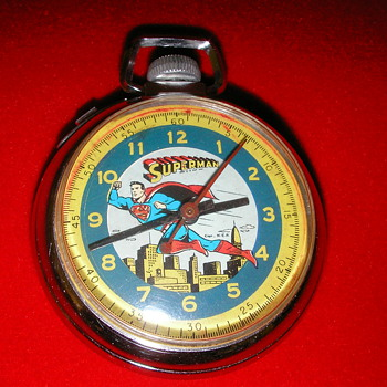 1959 Superman Pocket Watch - Pocket Watches