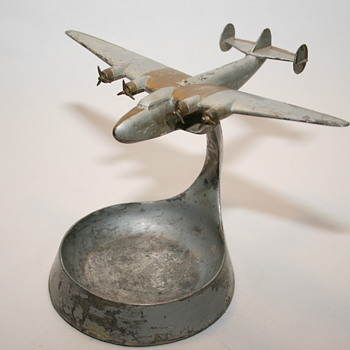 Rehberger B-314 Clipper Cast Metal Ashtray Circa 1938