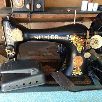 How old is this Singer Sewing machine?