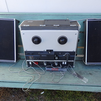 Reel to reel tape recorder - Electronics