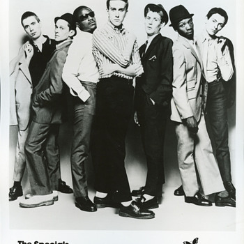 The Specials - promotional ephemera - Music Memorabilia