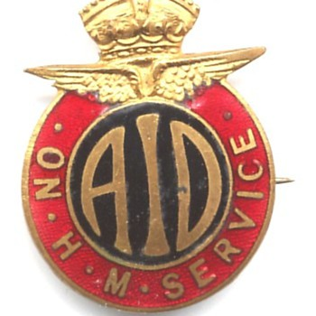 Home Front workers (Civilian) WW2 - Medals Pins and Badges