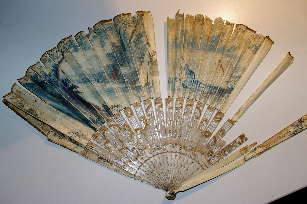 Antique Indonesian Hand Fan : Collectors Weekly