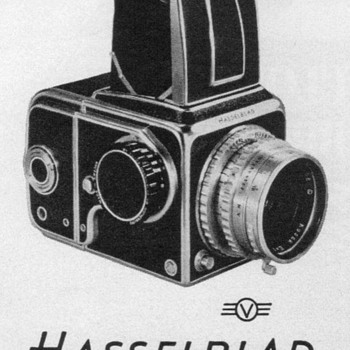 1952 - Hasselblad Camera Advertisement