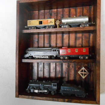 Old trains - Model Trains