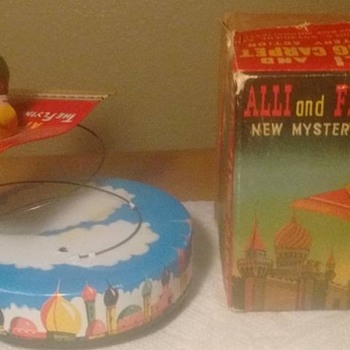"1950's ""Japan"" Alli and Flying Carpet !!! w/ original box"