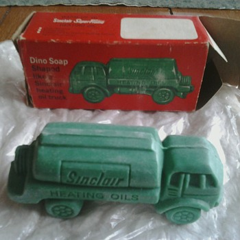 Sinclair Heating Oil Truck Soap