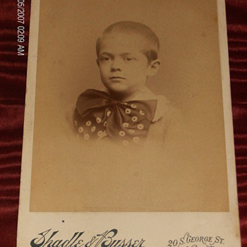 Boy With Huge Bowtie - Photographs