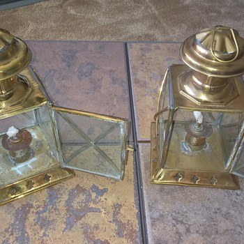 Oil Lanterns  - Nautical?