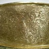 Oriental Bird & Fish Tray with  writings