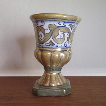 Miniature Pottery Vase from Italy