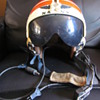 Vietnam Era Navy Visor Crew Member Helmet