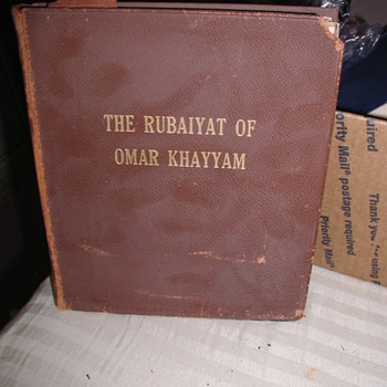 Is my version of The Rubaiyat of Omar Khayyam Translated into English by Edward Fitzgerald a 1st Edition / 1st Printing? - Books