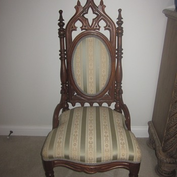 Gothic Chair - Furniture