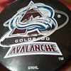 Signed Joe Sakic Puck!