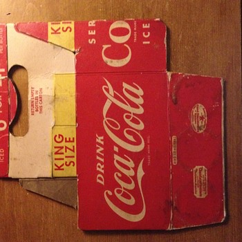 Coke-Cola Carton - Coca-Cola