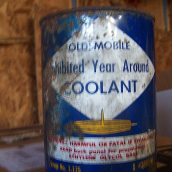 OldsMobile Coolant Can - Petroliana
