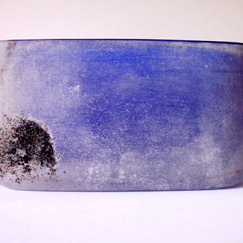 Cenedese Bowl a Scavo - Art Glass