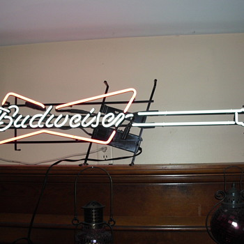My favorite no longer manufactored Budweiser neon sign
