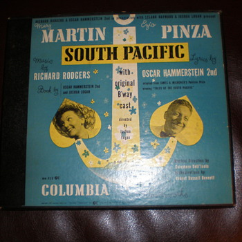Broadway Stageplay Recording of South Pacific (Box Set)