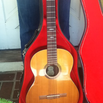 HERE'S YOUR CHANCE to see a Very Rare Vintage 1967 Guild Mark III classical guitar that just became available!