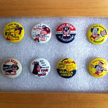Gumball machine pinback favourites - Medals Pins and Badges