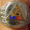 Mans Ring 5th Armored Division US