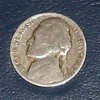 1942 Philadelphia Jefferson Silver Nickel