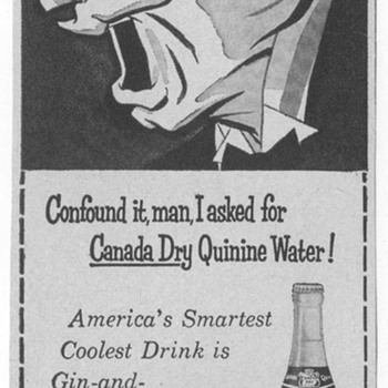 1955 Canada Dry Quinine Advertisements - Advertising